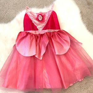 🎀Barbie sequin and glitter fairy like gown 4T